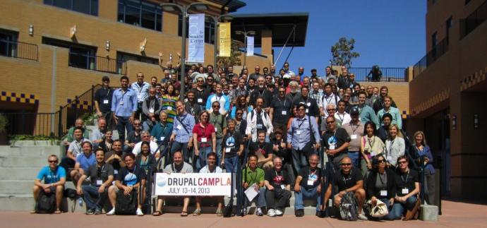 DrupalCamp LA 2013 Group photo